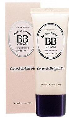 ВВ-крем для лица - Etude House Precious Mineral BB Cream Cover & Bright Fit — фото N1