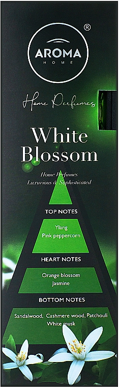 Aroma Home Black Series White Blossom - Ароматические палочки