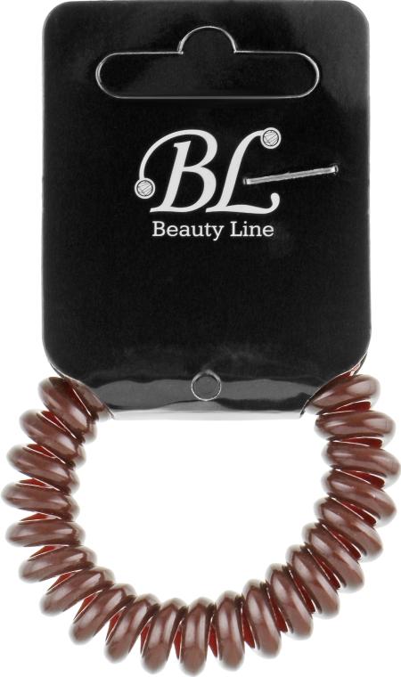 Резинка для волос, 405003, коричневая - Beauty Line