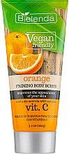 "Духи, Парфюмерия, косметика Скраб для тела ""Апельсин"" - Bielenda Vegan Friendly Body Scrub Orange"