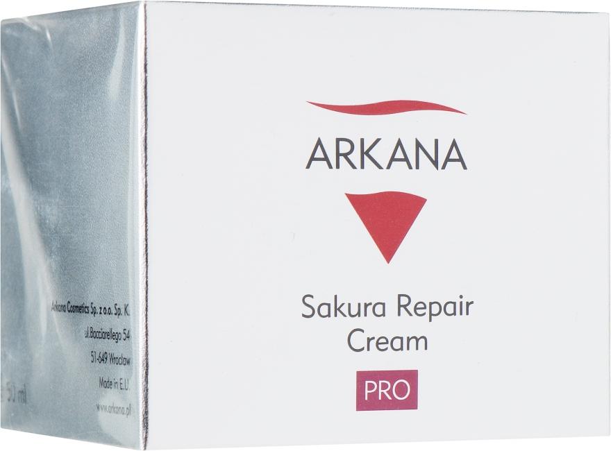 Восстанавливающий ночной крем для чувствительной кожи - Arkana Sakura Repair Cream