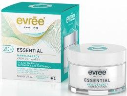 Духи, Парфюмерия, косметика Увлажняющий крем для лица - Evree Essential Moisturising Face Cream 20+