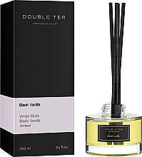 "Духи, Парфюмерия, косметика Аромадиффузор для дома ""Black Vanilla"" - Double Ter"