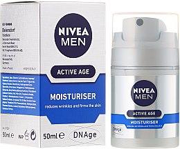 Духи, Парфюмерия, косметика Крем против старения кожи - Nivea For Men Aktive Age Moisturiser Cream