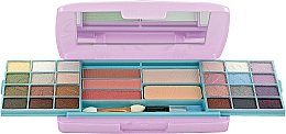 Духи, Парфюмерия, косметика Косметический набор, HB-2542PK - Ruby Rose Deluxe Beauty Make Up Kit