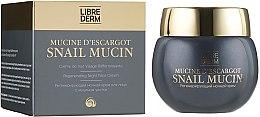 Регенерирующий ночной крем для лица с муцином улитки - Librederm Snail Mucin Regenerating Night Cream — фото N1
