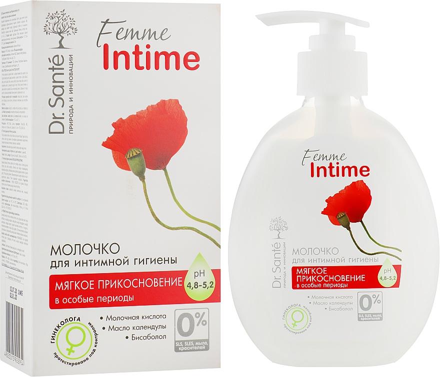 Молочко для интимной гигиены «Мягкое прикосновение» - Dr. Sante Femme Intime
