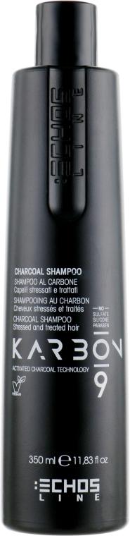 Шампунь с активированным углем - Echosline 9 Charcoal Shampoo
