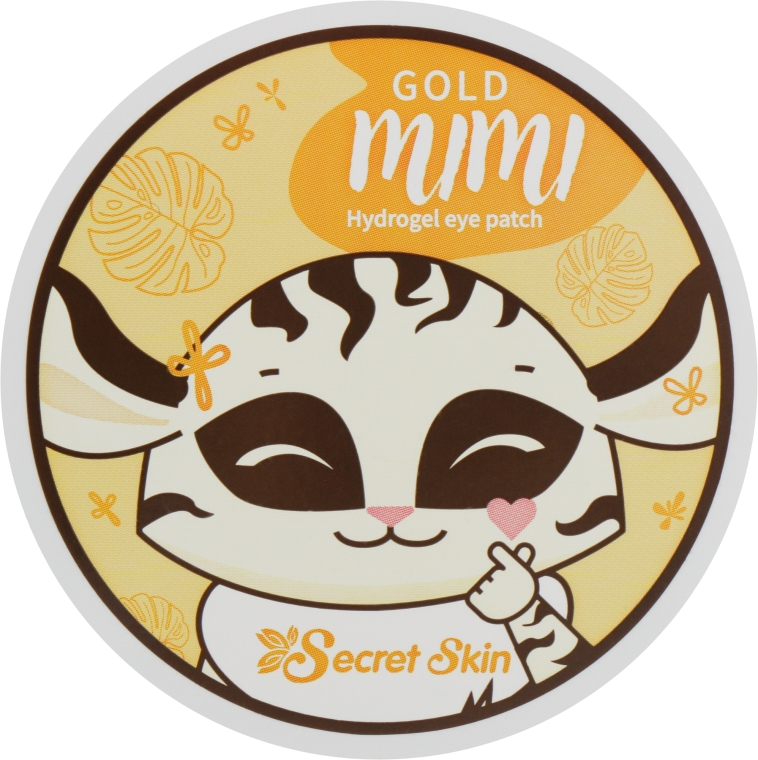 Патчи для век - Secret Skin Gold Mimi Hydrogel Eye Patch