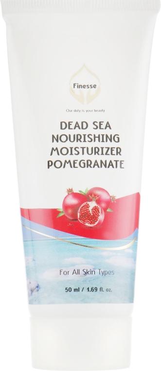 Питательный и увлажняющий крем с экстрактом граната - Finesse Dead Sea Pomegranate Nourishing Moisturizer Tube