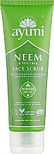 Духи, Парфюмерия, косметика Скраб для лица - Ayumi Neem & Tea Tree Face Scrub