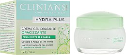 Гель-крем для лица - Clinians Hydra Plus Moisturizing Face Gel-Cream — фото N1
