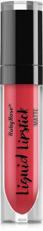 Жидкая матовая помада - Ruby Rose Matte Liquid Lipstick