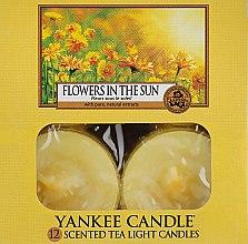 Духи, Парфюмерия, косметика Чайные свечи - Yankee Candle Scented Tea Light Candles Flowers in the Sun