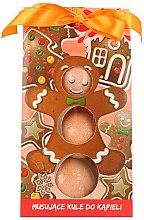 """Духи, Парфюмерия, косметика Детские бурлящие шарики """"Имбирное печенье"""" - Chlapu Chlap"""