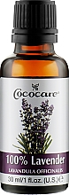 Духи, Парфюмерия, косметика Натуральное масло лаванды - Cococare 100% Lavender Oil
