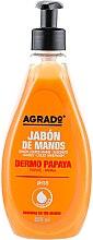 Духи, Парфюмерия, косметика Жидкое мыло для рук с папайа - Agrado Hand Soap