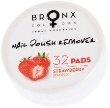 Духи, Парфюмерия, косметика Салфетки для снятия лака - Bronx Colors Nail Polish Remover Pads Strawberry