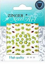 Духи, Парфюмерия, косметика Наклейки для дизайна ногтей, fda-194 - Zinger Nail Art Sticker