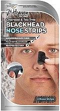 Духи, Парфюмерия, косметика Очищающие полоски для носа - 7th Heaven Men's Blackhead Nose Strips