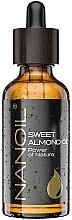 Духи, Парфюмерия, косметика Масло миндальное - Nanoil Body Face and Hair Sweet Almond Oil