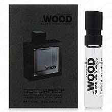 Духи, Парфюмерия, косметика DSQUARED2 He Wood Silver Wind Wood - Туалетная вода (пробник)