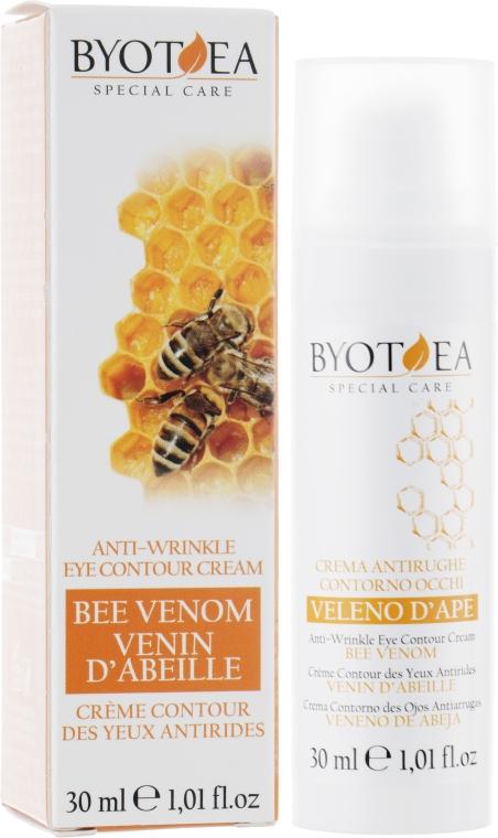 Крем із бджолиною отрутою для контурів очей, від зморшок - Byothea Eye Contour Cream With Bee Venom — фото N1