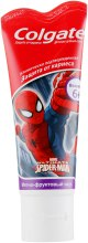 "Духи, Парфюмерия, косметика Детская зубная паста ""Защита от кариеса"" - Colgate Spider Man"