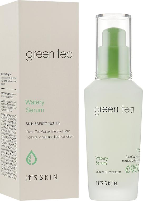 Сыворотка для жирной и комбинированной кожи с зеленым - It's Skin Green Tea Watery Serum