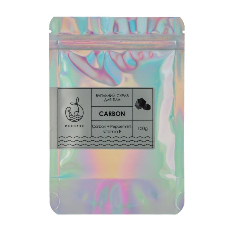 Карбоновый скраб для тела - Mermade Carbon Body Scrub