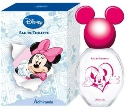 Духи, Парфюмерия, косметика Admiranda Minnie Mouse - Туалетная вода (тестер с крышечкой)