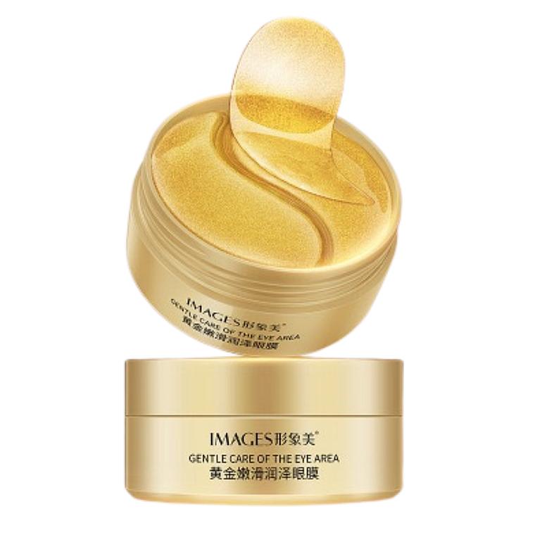 Гидрогелевые патчи для глаз с экстрактом золота - Images Gold Lady Series Eye Mask