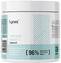 Духи, Парфюмерия, косметика Базовый крем для тела - Lynia Cream Base C Natural