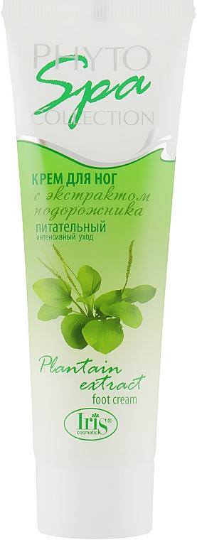 """Крем для ног """"Питательный"""", с экстрактом подорожника - Iris Cosmetic Phyto Spa Collection"""