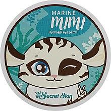 Духи, Парфюмерия, косметика Патчи для век - Secret Skin Marine Mimi Hydrogel Eye Patch