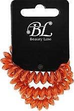 Духи, Парфюмерия, косметика Набор резинок для волос, 405004, горчичные - Beauty Line
