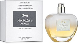 Antonio Banderas Her Golden Secret - Туалетна вода (тестер без кришечки) — фото N2