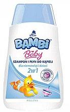 Духи, Парфюмерия, косметика Детский шампунь и гель для душа 2в1 - Pollena Savona Bambi 2in1 Shampoo & Shower Gel