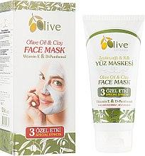 Духи, Парфюмерия, косметика Маска из глины для лица с оливкового маслом - Selesta Senses Olive Oil & Clay Face Mask