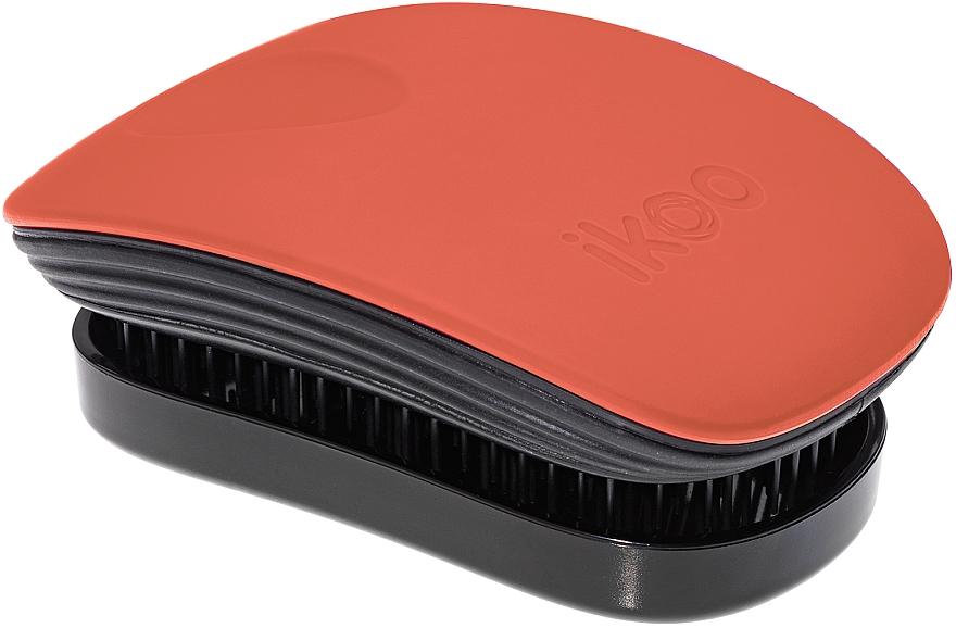Расческа для волос - Ikoo Pocket Black Orange Blossom