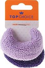 Резинки для волос, фиолетовые mix - Top Choice — фото N2