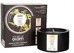 Духи, Парфюмерия, косметика Ароматическая свеча - House of Glam Oak Moss Sage Candle