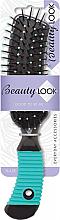 Духи, Парфюмерия, косметика Расческа прямоугольная, черно-зеленая 485840 - Beauty Look