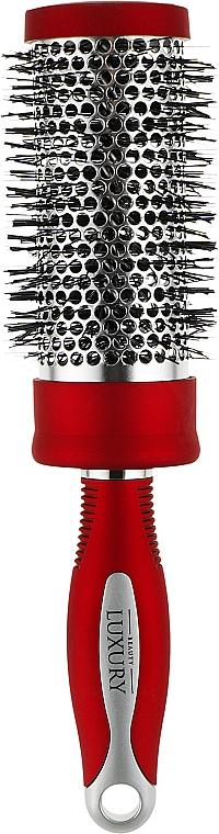 Брашинг для укладки, HB-04-03, красный - Beauty LUXURY