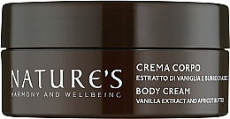 Духи, Парфюмерия, косметика Крем для тела - Nature's Vaniglia Bianca Body Cream
