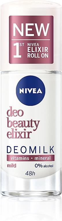 Антиперспирант - Nivea Deomilk Beauty Elixir Mild Roll On