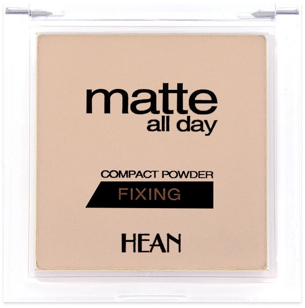 Пудра для лица - Hean Matte All Day Compact Powder