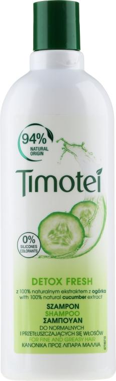 "Шампунь для волос ""Детокс-уход"" - Timotei Detox Fresh Shampoo"