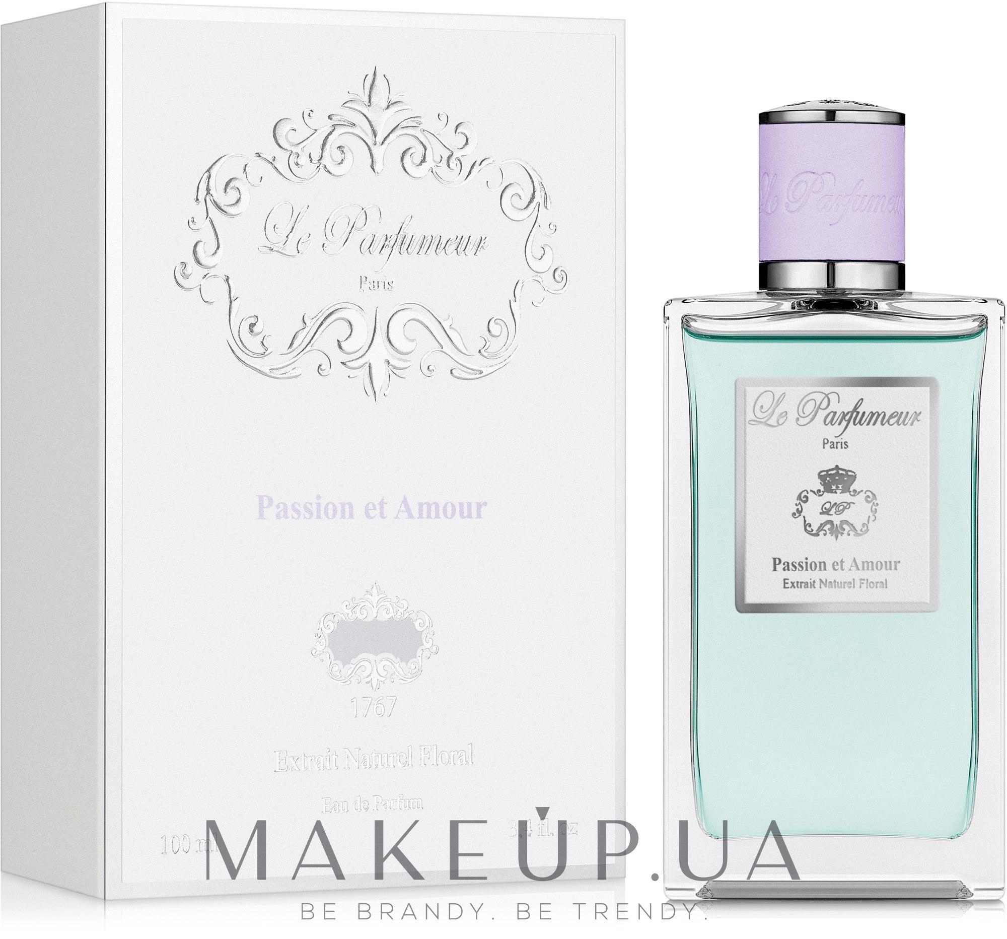 Le Parfumeur Passion Amour Et - Парфумована вода (тестер з кришечкою) — фото 100ml