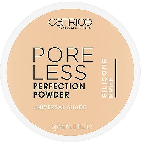 Пудра для лица - Catrice Puder Poreless Perfection Powder